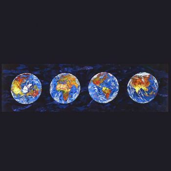 earth phases drawing