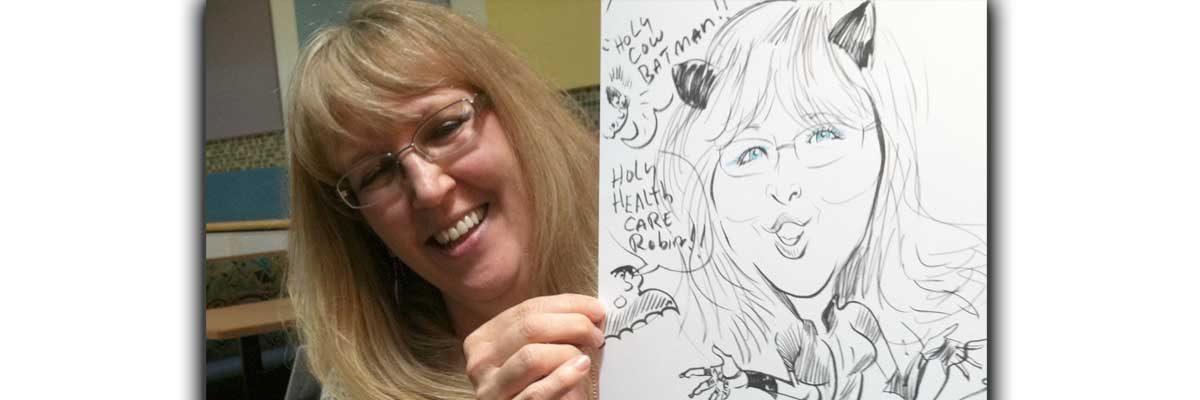 Dana Verkouteren - Caricaturist, Courtroom Sketch