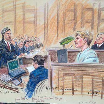 newspaper court sketch