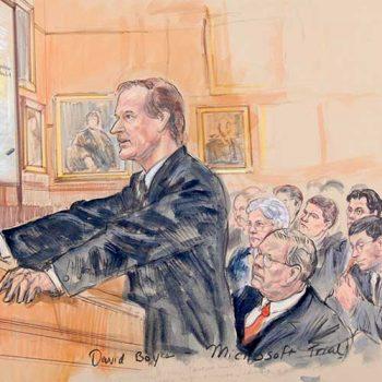 court case argument sketch