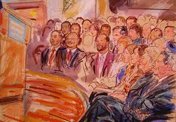 court room artist in dc